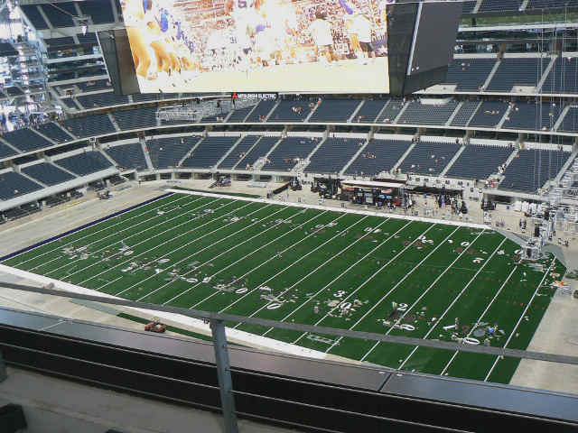 Dallas Cowboys Club Mezzanine