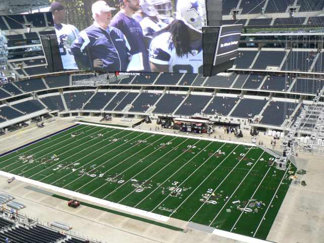Dallas Cowboys Upper Reserved